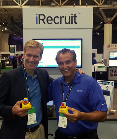 Brian Kelly and Stephen Kelly at Sage Summit.