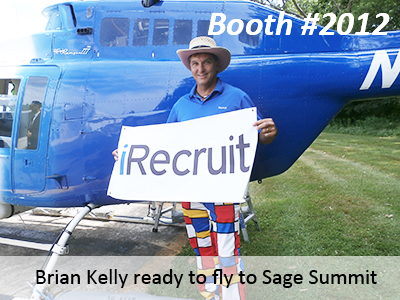 Brian gets ready to take iRecruit to Sage Summit
