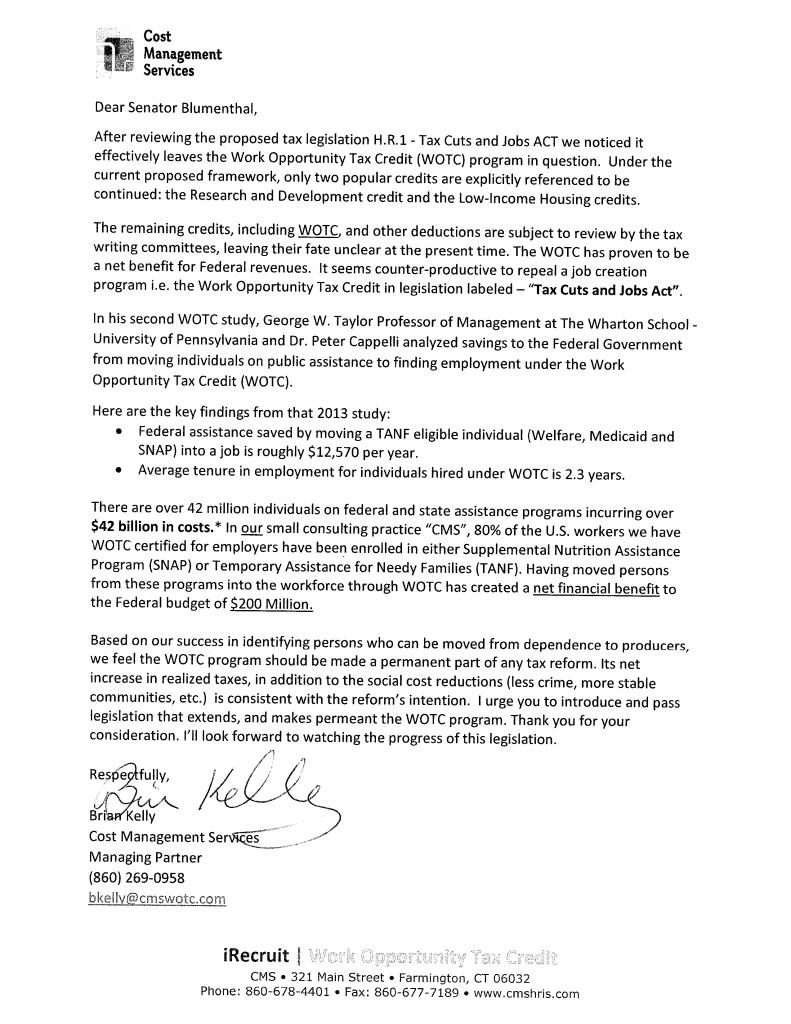 CMS-to-Senator-Blumenthal-HR-1-WOTC-Letter